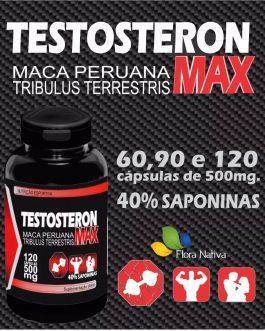 Testosterone MAX – Tribulus + Maca Peruana